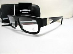 ea7ba6110c08 Buy Chrome Hearts Black Dismembered Filerknee Eyewear Online