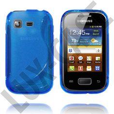 Blå Samsung Galaxy Pocket Skal