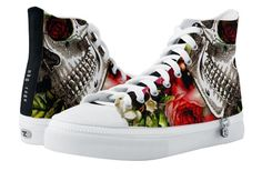 Shop Memento Skull High Tops created by NDGRags. Beautiful Red Roses, Top Shoes, Converse Chuck Taylor, High Tops, Qoutes, High Top Sneakers, Take That, Skull, Vintage