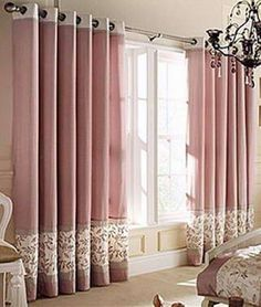 Else: Beautiful Curtain Designs - Curtains - . Everything Else: Beautiful Curtain Designs – Curtains –Everything Else: Beautiful Curtain Designs - Curtains - . Everything Else: Beautiful Curtain Designs – Curtains – Pink Curtains, Home Curtains, Modern Curtains, Curtains With Blinds, Curtain Panels, Curtain Designs For Bedroom, Latest Curtain Designs, Drapery Designs, Curtains Childrens Room