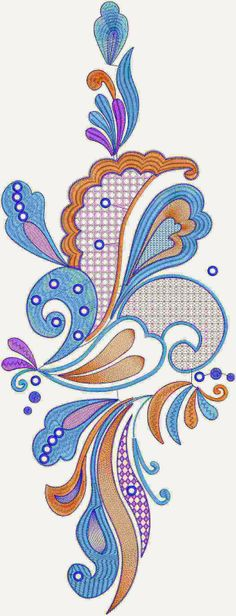 Exclusive Art Cultural Embroidery Patch Designs - Embdesigntube