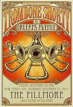 Trombone Shorty #concerts #posters #art #music