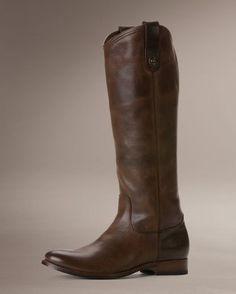 Women's Melissa Button Boot - Dark Brown