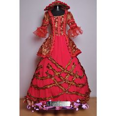 9b845b7eb4e For Letha s Wedding Red Goth Corset Western Clothing Womens Halloween  Costumes Wedding Gowns