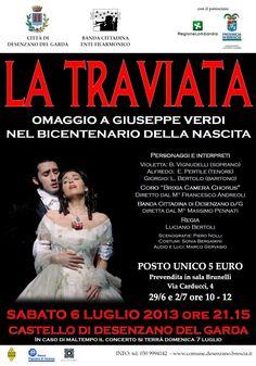 La Traviata, Verdi - Opera Poster