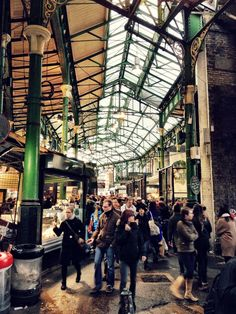 Borough Market, London ... great foodie place, probably the single best in London!