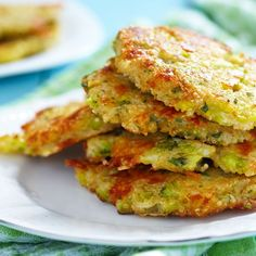 Galettes de quinoa au brocoli