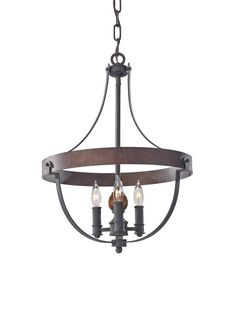 "View the Murray Feiss F2797/3 Alston 16"" Diameter 3 Light Single Tier Chandelier at LightingDirect.com."