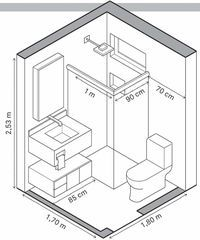 How to maximize space in a small bathroom. Still want my sink outside the room. But want shower and toilet in the room like this... maybe a little more room.