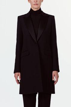 Pallas — Moonlight Coat Noir — THE LINE