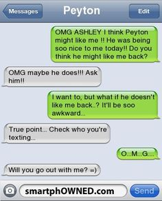 Hahaha!...aww!