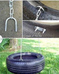 Bag ideas: swing of a car tire