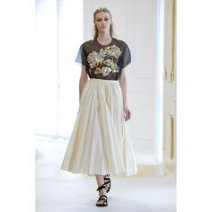 Christian Dior. #transparency #skirt #fashion #Vogue #VogueRussia #couture #fallwinter2016 #ChristianDior #VogueCollections