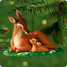 2000 Disney - Bambi - The New Prince Hallmark Christmas Ornament, Mint in Box - In Stock! - The Ornament Shop. Hallmark Christmas Ornaments, Hallmark Keepsake Ornaments, Christmas Decorations, Disney Pixar, Walt Disney, Christmas Love, Handmade Christmas, Xmas, Disney Wishes