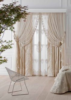 95 Best Curtains Images In 2019 Bed Room Curtain Designs