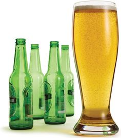 This Big Beer Glass Holds Up To Four Bottles of Beer #drinking trendhunter.com