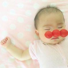 #我が家のアンパンマン♡ #ベビタブル #ベビフルーツ #野菜アート Baby Photos, Children, Sleep, Young Children, Baby Pictures, Boys, Kids, Babies Photography, Child