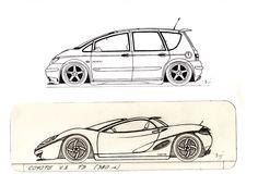 cars design lineart