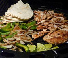 Thibeault's Table: Chicken Fajitas