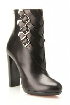 Christian Louboutin Troop Booties--these would be perfect for work with slacks...if only they weren't Louboutin priced!