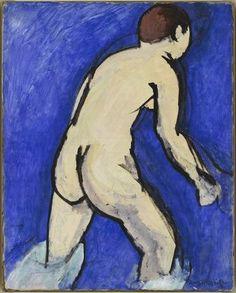 Matisse - Bather, summer 1909