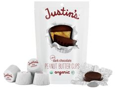 The Cutest + Tastiest Dairy-Free and Vegan Halloween Treats (Pictured - Justin's Mini Dark Chocolate Peanut Butter Cups
