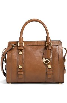MICHAEL Michael Kors 'Medium Collins' Leather Satchel available at #Nordstrom