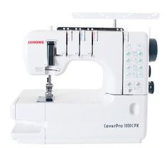 Janome CoverPro by Janome Sewing Machines in Machines - Sewing, Quilting & Embroidery Machines Janome, Sewing Hacks, Sewing Tips, Machine Embroidery, Projects To Try, Workshop, Quilts, Sewing Machines, Contemporary Design