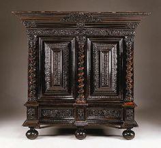 A DUTCH BAROQUE EBONY ARMOIRE | LATE 17TH CENTURY | Christie's
