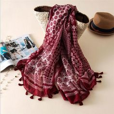 Item Type: Scarves Gender: Women Department Name: Adult Style: Fashion Model Number: YV009 Scarves Type: Scarf Brand Name: URQ Material: Viscose Scarves Length: >175cm Pattern Type: Geometric women sc