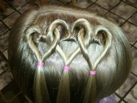 Valentine's Day Hairstyles & Ideas For Girls & Kids 2013 @ Juxtapost.com