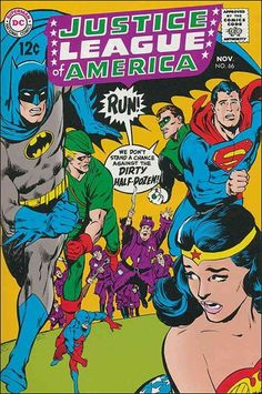 Justice League of America 66 November 1968