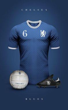 Designer cria camisas clássicas para grandes clubes da América do Sul e  Europa fe7a9352b862e