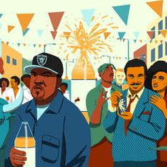 The Sleazy and Spectacular History of Malt Liquor • Featuring Ice Cube, Billy Dee Williams, Muffy from the country club, and a bunch of college idiots.
