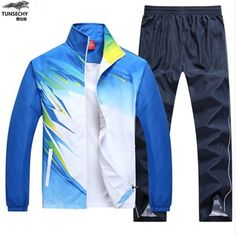 Awesome goods you bought it again Mens Tracksuit Set, Track Suit Men, Man Set, Pioneer Woman, Mandarin Collar, Sportswear, Trousers, Suits, Coat
