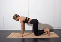 4. Knees Off #pilates #workout #fitness http://greatist.com/move/pilates-best-exercises-to-do-without-reformer