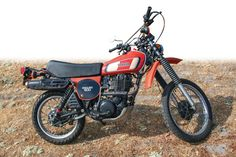 1977 Yamaha XT500 Enduro. Four Stroke Engine, Off Road Bikes, Power Bike, Japanese Motorcycle, Yamaha Motorcycles, Dual Sport, Bike Run, Old Models, Scrambler