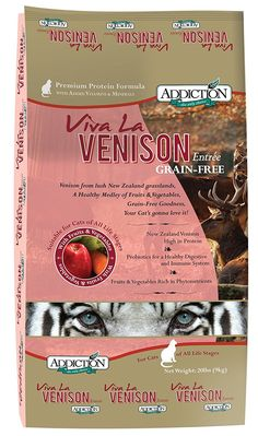 Addiction Pet Foods Viva la Venison Cat Food ** You can find out more details at the link of the image.