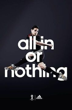 In Adidas' Slogan Campaign Is For Nothing Their All Or QrxtshdC
