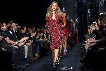 Diane von Fustenberg en la Semana de la Moda de Nueva York