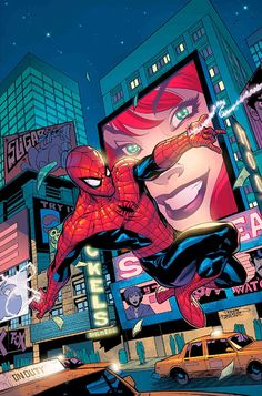 #Spiderman #Fan #Art. (Amazing Spider-Man Vol.2 #54 Cover) By: Terry Dodson. (MAJOR ÅWESOMENESS!!!™)