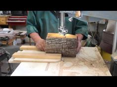 Wood Turning From Log to Bowl - YouTube