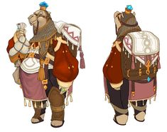 Character Design | Lime Odyssey: The Chronicles of Orta