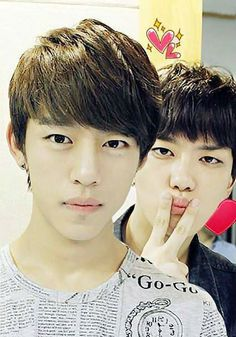 Daehyun and Youngjae (>*-*)>