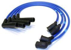 NGK Super Blue 8mm Spark Plug Wires Racing 9200 Honda