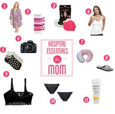 What's in my hospital bag: 11 hospital essentials for moms