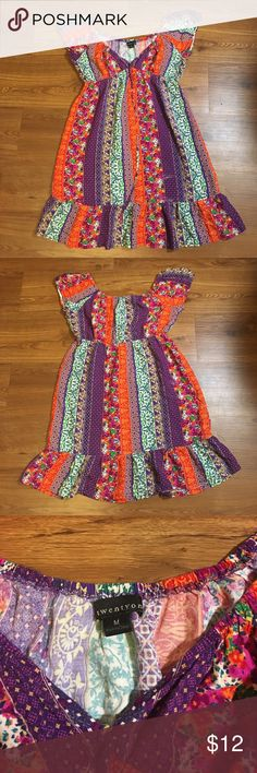 Forever 21 Dress Size Medium, Bohemian Style Dress Forever 21 Dresses