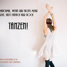 #dance #letsdance #happy #heilung #party #glücklich #tanzen #sprüche #white #easy Motivation, Party, Self Love, Healing, Dance, Simple, Parties, Inspiration