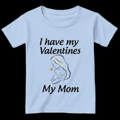 Beautiful Valentine Gift - Kids & Toddlers Tees #love #valentine #mom Valentine Gifts For Kids, Be My Valentine, Toddlers, T Shirts For Women, Mom, Tees, Mens Tops, How To Wear, Beautiful