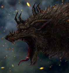ragnarok wolf fenrir - Google Search